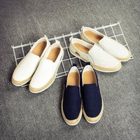 Wholesale 2016 Spring New Trend of Men s Shoes Korean Student Shoes Canvas Shoes Low Shoes Lazy Shoes