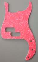 Wholesale For US Standard Precision Bass Pickguard replacement Ply Pink Preal