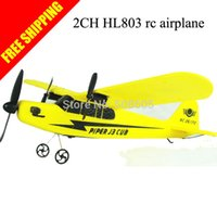 Cheap Wholesale-New Arrival Retro Sea gull RTF 2CH HL803 rc airplane with EPP material rc glider radio control airplane kid's model aircraft
