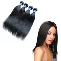 Wholesale Remy human hair A straight weave peruvian Unprocessed Human Virgin Hair Natural Color Can Be Dyed and Bleached hair