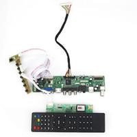 Wholesale inch x1050 TV HDMI CVBS VGA USB AUDIO Controller Board For LTN170P2 L01 LTN170MT02 M01