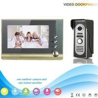 Wholesale XSL V80 M2 V1 Xinsilu Manufacturer inch large screen Color LCD Monitor intercom building video door phone