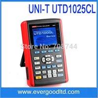 Wholesale UNI T UTD1025CL Ms s X240 quot LCD K Color TFT Handheld Digital Oscilloscope CH MHZ