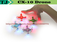 Wholesale cheerson cx cx10 mini ghz ch rc remote control quadcopter helicopter drone cx led toys with gift today