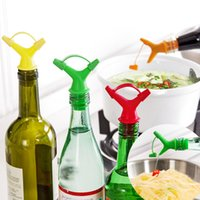 Wholesale 3pcs Practical Silicone stopper Seasoning Wine Beer Bottle Liquor Spirit Pourer Cap Cover Reusable Plug Lid