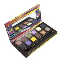 artist shadow boxes - 1pc Artist Palette Eyeshadow Makeup Cosmetics Eye shadow Palette Color With Brush in box the pigment as real photo