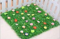 artificial grass carpet - 25 CM Artificial Imitation Fake Grass Carpet Plastic Lawn for Garden House Nursery Schools Decoration
