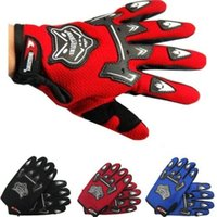 Wholesale Off Road Racing Motorcycle Motorbike Gloves Motocross Full Finger Gloves BMX ATV Breathable Mesh Fabric Protective Guantes Luvas