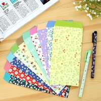 Wholesale Korea Cute Cartoon Mini Colorful Paper Envelopes Kawaii Small Baby Gift Craft Envelopes for Wedding Letter Invitations