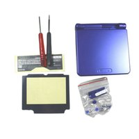 advance housing - Blue Full Housing Shell Case Cover Replacement for Nintendo GBA SP Gameboy Advance SP