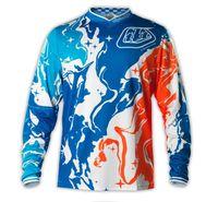 Wholesale TLD bike racing downhill MTB sleeved T shirt long T motocross outdoor sportswear