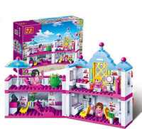 beauty shop toys - New original Banbao Girl s Friends Beauty shop Building Block Sets Construction Bricks Toys Compatible with Legoi