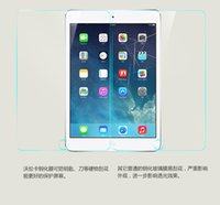 Wholesale Hot Seller for iPad Tempered glass screen protector for ipad2 ipad3 ipad4 inch protective film foil anti riot glass film