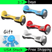 bicycles for children - Hot Self Balancing Inch Kids Scooter Two Wheel Electric Drifting Board Bicycle Smart Balance For Children kids of protective gears