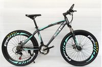 Wholesale 2016 High quality carbon steel selling speed double disc brake speed Frame Material Bicycle Partsretail mountain bike