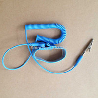 Wholesale Best Price NEW Anti Static Antistatic ESD Adjustable Wrist Strap Band Grounding Blue HS11014