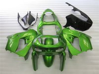 Wholesale 3 Free gifts Motorcycle Fairings For Kawasaki ZX9R ZX R ABS Plastic Covers Fairing Kit Bodywork Cowling glossy green