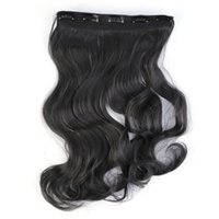 Wholesale Clip in Hair Extensions Sexy Long Human Hair Extensions Synthetic Wig