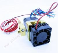 Wholesale 12 V Fan Makerbot D Printer MK8 Single Extruder MK8 Extruder V V Heater K NTC thermistor mm Makerbot Reprap