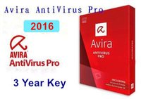 Wholesale 2016 Avira Pro AntiVirus Red Umbralla Years Edition Internet Security Key License Online Global Seconds Send