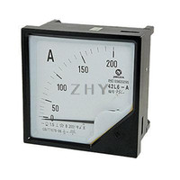 Digital Only Others Others Wholesale-AC 0-200A 1.5 Accuracy Analog Ampere Panel Meter Gauge 42L6