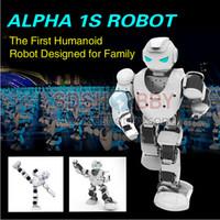 alpha toys - Alpha S KID TOY SMART HUMANOID ROBOT UBTECH Alpha s D Programmable For Intelligent Life Companion Entertainment Education