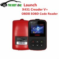 Wholesale Original LAUNCH X431 CReader V OBD2 Code Reader Free Internet Update X431 CReader Plus Support Multi Languages
