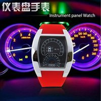 air wrist watch - LED Watches men Sports Watches women mens Silicone Wristwatches Digital Watch Air Race Electronic Binary Wrist Watch New Fashion Accessories