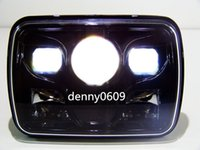 accessories for tractor - 7inch super Car Accessories automotive headlights Square LED Headlight For Truck Trailers tractor offroad