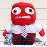 baby anger - 1Pcs Inside Out Joy Sadness Fear Disgust Anger Plush Toy Soft Baby Stuffed Dolls Gift For Children cm Approx