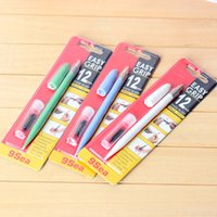 Wholesale 6 set Pen knife set with spare blade Hobby knife for paper rubber stamp scrapbooking stationery school supplies