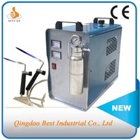 Wholesale AC220V with European plug150L hour W gas generation HHO Generator supporting sets of flame torches to weld metals parts