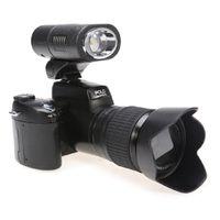 led point - DHL Free Polo D3200 digital camera million pixel camera digital Professional SLR camera X optical zoom HD camera plus LED headlamps