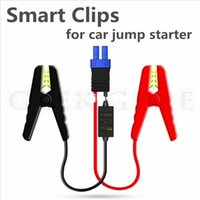 battery jump cable - New High Quality Smart Booster Cable For Car Jump Starter Short Circuit Overcharge Constant Regulator Protect Battery Free Ship