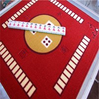 Wholesale High quality mahjong mat household mahjong table cloth hand playing mahjong mat