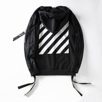 Wholesale 2016 New Off White Exo GD Pyrex Religious Skull Black Color Fleece Hoodie Sweatshirts Cotton Hoodies