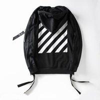 Wholesale 2016 New Off White Exo GD Pyrex Religious Skull Black Color Fleece Hoodie Sweatshirts Cotton Hoodies