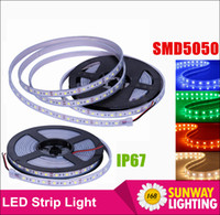 leds waterproof flexible waterproof led strip - High bright SMD Silicone Tube led strips IP67 waterproof RGB Flexible strip M Roll Leds DC V led outdoor christmas lights