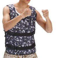 Wholesale Camouflage Steel plate weight vest Player exercise clothes New Boxing train jacket Quality Fashion color waistcoat