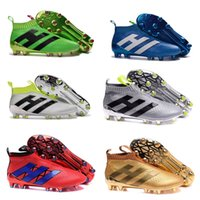 air zoom control - New kids soccer shoes no shoelaces high ankle fooTbaLls bOOTs ACE purECOntROl AG FG outdoor childer boys girls purE COntROl sOcCEr cLEAts