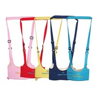 Wholesale 1 pc New Kid Keeper Baby Safe Walking Learning Assistant Belt Kids Toddler Adjustable Safety Strap Wing Harness CarriesTRQ0148