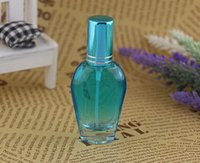 Wholesale Beautiful Color Glass Perfume Bottle ml Empty Scent Makeup Pump Sprayer Bottle Travel Cosmetic Portable bottle