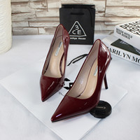 apricot candy - Spring new nightclub nude pointed mouth shallow candy color high heels fine documentary shoes of marriage
