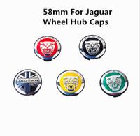 Wholesale Original quality by dhl mm for jaguar wheel hub caps S TYPE X TYPE XK XJ for Jaguar Center Caps