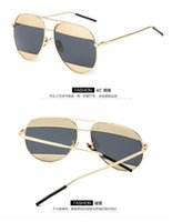 amber family - The New Trend In Europe And America Family Circle Frame Fashion With Clear Lenses Sunglasses L