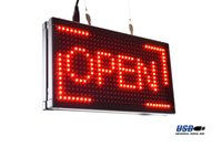 animation window - Programmable LED Open Sign quot x7 quot Udisk Update Window Hang Animation Text