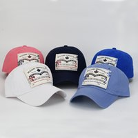 Wholesale baseball cap fitted hat Casual cap panel hip hop snapback hats wash cap for men women