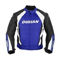 Wholesale DUHAN Men s Motocross Off Road Racing Sports Jacket Motorcycle Windproof Riding Jaqueta Clothing with Five Protector Guards