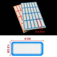 Wholesale Convenient Red Blue Color Price Sticker Adhesive Paper Self adhesive Label Price Label Sticky School Office Supplies Papelaria
