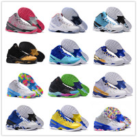 army training shoes - 2015 All Colors Stephen Curry Men s Basketball Shoes for Top quality One Two Birthday Signature Sports Training Sneakers Size